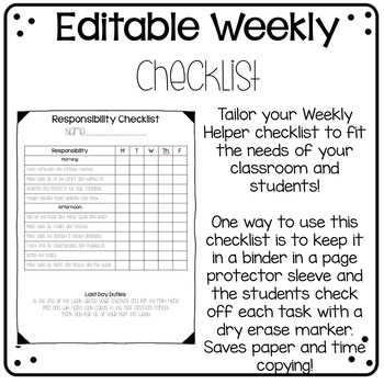 Weekly Helper Handbook