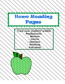 Home Reading Pages
