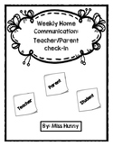 Weekly Home-school communication