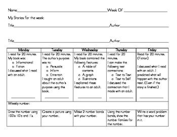 Weekly Homework
