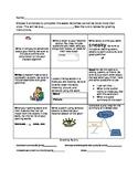 Weekly Reading/Writing Homework Chart