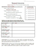 Weekly Homework Log- English and Spanish