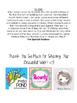 Weekly Homework Sheet {SPECIAL EDUCATION & GENERAL EDUCATION}