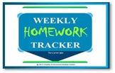 Weekly Homework Tracker, the Carten Way