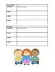 Weekly Homework/Assignment Sheet