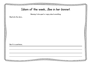 Weekly Idioms