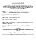 Weekly Independent Word Study Activities