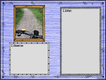 Weekly Inferencing DIGITAL Writing Prompts