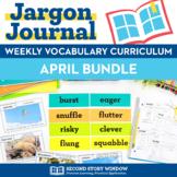 April Vocabulary Bundle