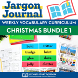 Christmas Vocabulary Activities Bundle