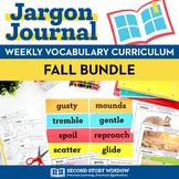 Fall Vocabulary Bundle