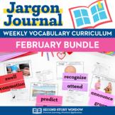 February Vocabulary Bundle
