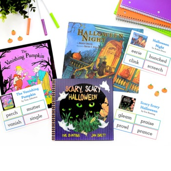 Halloween Vocabulary Bundle