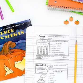 Halloween Vocabulary Bundle
