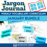 January Vocabulary Bundle