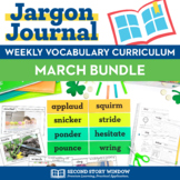 March Vocabulary Bundle