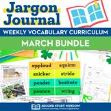 March Vocabulary Bundle