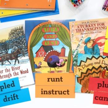 Thanksgiving Activities •  Thanksgiving Vocabulary