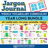 Vocabulary Activities Bundle