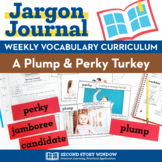 Thanksgiving Activities • A Plump and Perky Turkey Vocabulary