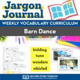 Barn Dance Vocabulary