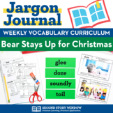 Bear Stays Up for Christmas Vocabulary