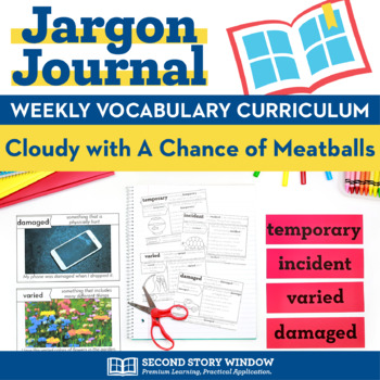 Cloudy With A Chance Of Meatballs Vocabulary Teaching Resources