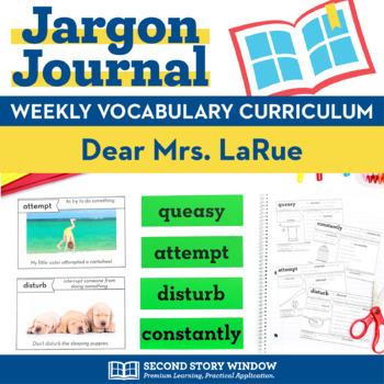 Dear Mrs LaRue Vocabulary