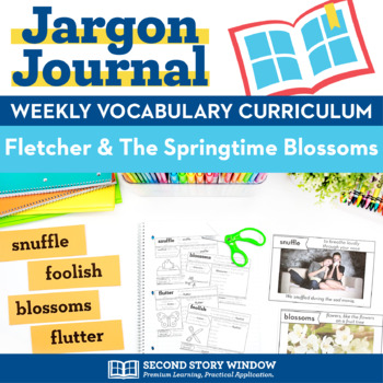 Fox and the Springtime Blossoms Vocabulary