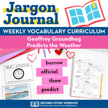 Geoffrey Groundhog Predicts the Weather Vocabulary