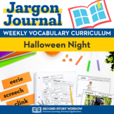 Halloween Night Vocabulary