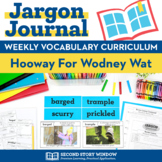 Hooway for Wodney Wat Vocabulary