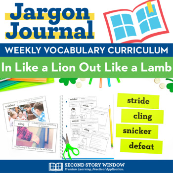 In Like a Lion, Out Like a Lamb Vocabulary
