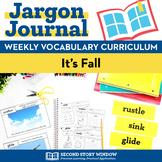 It's Fall Vocabulary