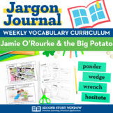 Jamie O'Rourke & the Big Potato Vocabulary