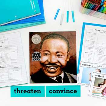 Martin Luther King Activities - MLK Jr. - Martin's Big Words Vocabulary