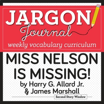 Miss Nelson is Missing! Vocabulary