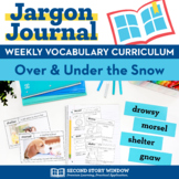 Over and Under the Snow Vocabulary
