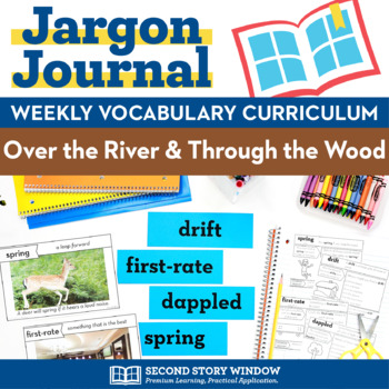 Thanksgiving Activities • Over the River and Through the Wood Vocabulary