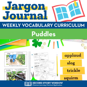 Puddles Vocabulary