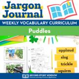 Puddles Vocabulary