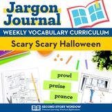 Scary Scary Halloween Vocabulary