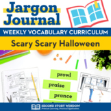 Scary Scary Halloween Vocabulary