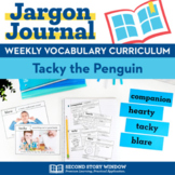 Tacky the Penguin Vocabulary