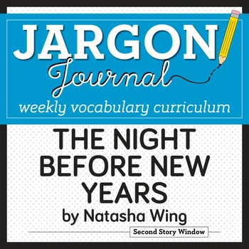 The Night Before New Years Vocabulary
