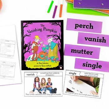 The Vanishing Pumpkin Vocabulary