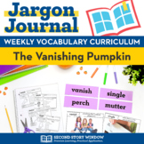 The Vanishing Pumpkin Vocabulary