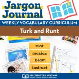 Thanksgiving Activities • Turk and Runt Vocabulary