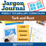 Thanksgiving Activities • Turk and Runt Vocabulary