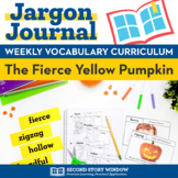 The Fierce Yellow Pumpkin Vocabulary
